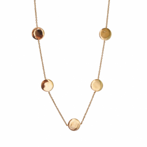 """Paillette"" Dancing - Necklace - Gold"