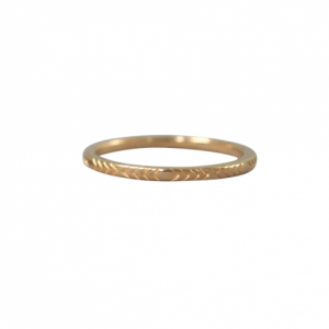 """Trinity"" Arrow - Ring - Gold"
