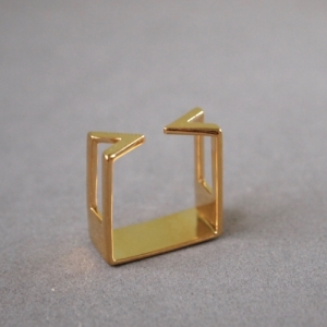 """""""Suspirium"""" Open - Ring - Gold"""