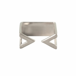 """Suspirium"" Open - Ring - Silver"