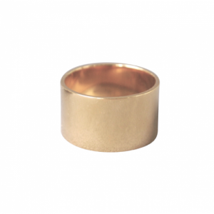 """Stripes & Joist"" Bar 12 - Ring - Gold"