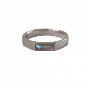 """Stripes & Joist"" Labradorite - Ring - Silver"