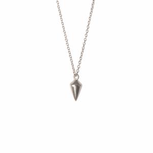 """""""Cleometra"""" Pendulum - Necklace - Silver"""