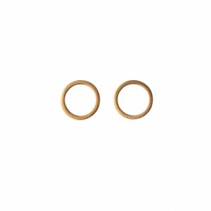 """Atmos"" Polar Mikro - Stud Earring - Gold"