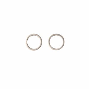 """Atmos"" Polar Mikro - Stud Earring - Silver"