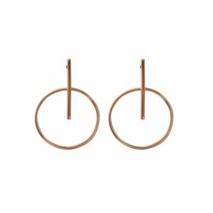"""Atmos"" Trans Makro - Stud Earring - Gold"