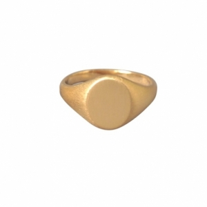 """Oneiro"" Signet - Ring - Gold"