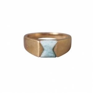 """""""Suspirium"""" Amazonite - Ring - Gold"""