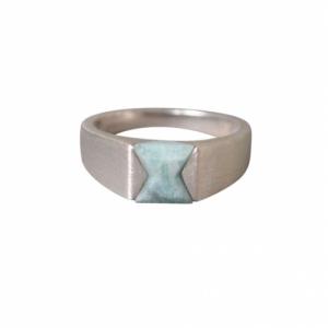 """""""Suspirium"""" Amazonite - Ring - Silver"""