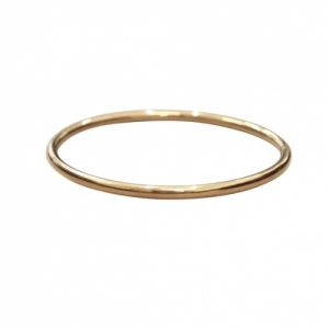 """Curvaceous"" Classic (4) - Bangle - Gold"