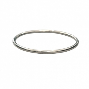 """Curvaceous"" Classic (4) - Bangle - Silver"