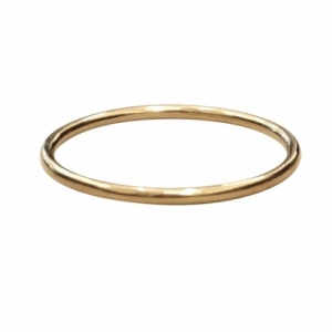 """Curvaceous"" Classic (5) - Bangle - Gold"