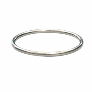 """Curvaceous"" Classic (5) - Bangle - Silver"