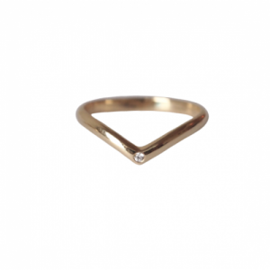 """Solitaire"" Diamond White Classic - Ring - 18 Karat Gold"