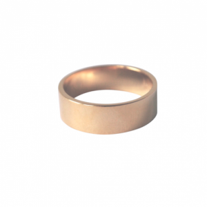 """Stripes & Joist"" Bar 6 - Ring - Gold"