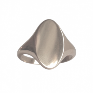 """Sophie"" Signet - Ring - Silver"