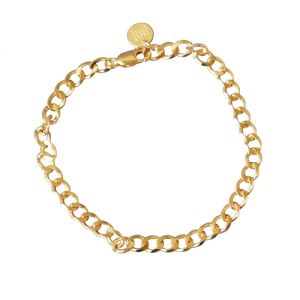 """Curb"" Fellow - Bracelet - Gold"
