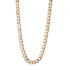 """Curb"" Fellow - Necklace - Gold"