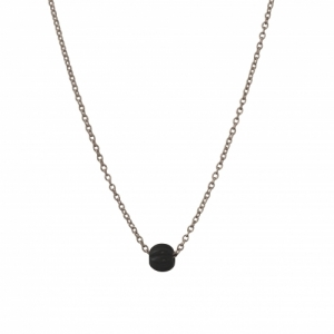 """Panthera"" Notch Onyx - Necklace - Silver"