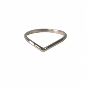"""Solitaire"" Classic - Ring - 18 Karat Whitegold"