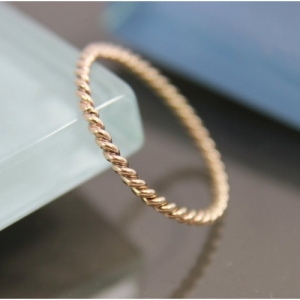 """Sophie"" Twist - Ring - Gold"