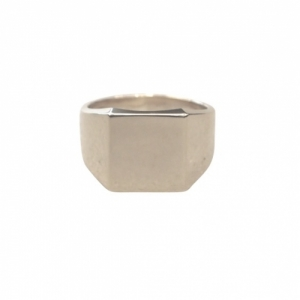 """Cleometra"" Fundamental Signet - Ring - Silver"