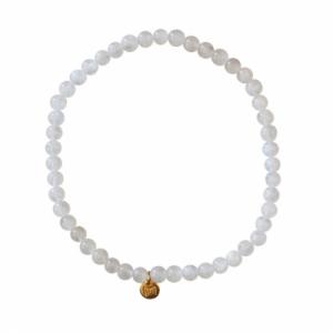 """""""Un-Deux-Trois"""" Moonstone White (4) - Bracelet"""