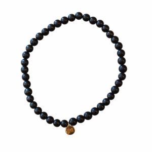 """Panthera"" Schungit (4) - Bracelet"
