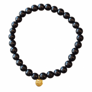 """Panthera"" Schungit (6) - Bracelet"