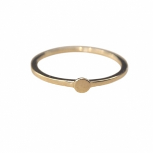 """Paillette"" Single XS - Ring - Gold"
