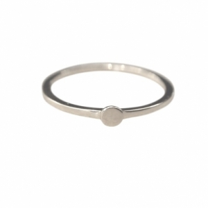 """Paillette"" Single XS - Ring - Silver"