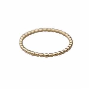 """""""Un-Deux-Trois"""" Ball - Ring - Gold"""