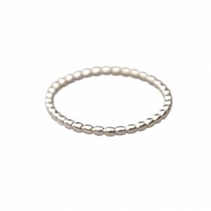 """Un-Deux-Trois"" Ball - Ring - Silver"