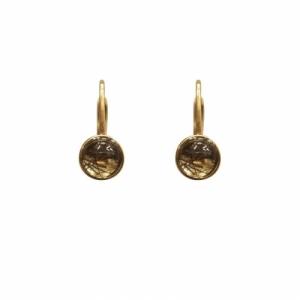 """""""Panthera"""" Bristles - Brisur Earring - Gold"""