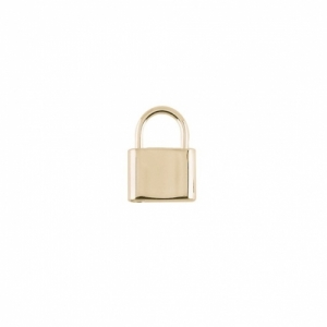 """Curb"" Lock Small - Pendant - Gold"