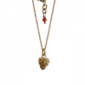 """""""Garden Eden"""" Pinecone - Necklace - Gold"""