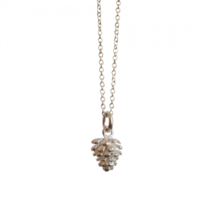 """Garden Eden"" Pinecone - Necklace - Silver"
