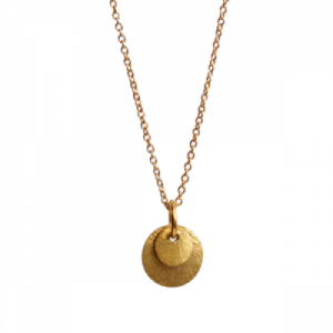 """Spot Classic"" Beam - Necklace - Gold"