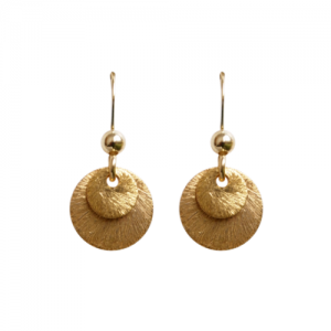 """Spot Classic"" Beam - Earring - Gold"
