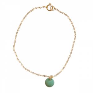 """""""Spot"""" Mint - Bracelet - Gold"""