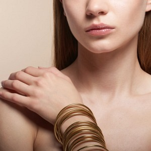 CURVACEOUS | Classic (3) - Bangle - Gold