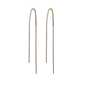 """""""Stripes & Joist"""" Line - Earring - Gold"""