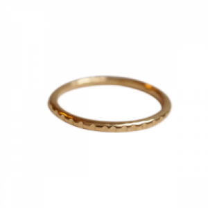 """Panthera"" Notch - Ring - Gold"