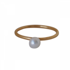 """""""Sophie"""" Nature Pearl - Ring - Gold"""