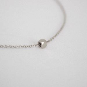 CLEOMETRA   Hexagon Square - Bracelet - Silver