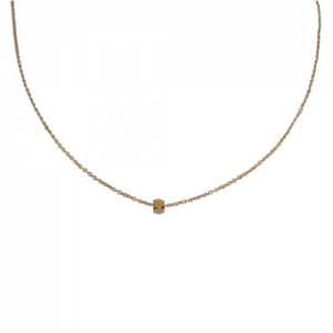 """Cleometra"" Hexagon Square - Collier - Gold"