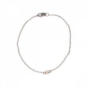 """Paillette"" Single - Bracelet - Silver"