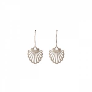 HUMMINGBIRD SHELL | Classic - Earring - Silver
