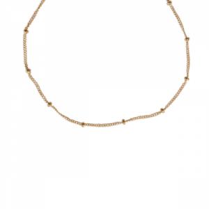 UN-DEUX-TROIS | Classic - Collier - Gold