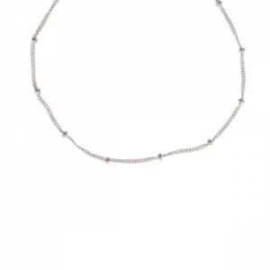 UN-DEUX-TROIS | Classic - Collier - Silver
